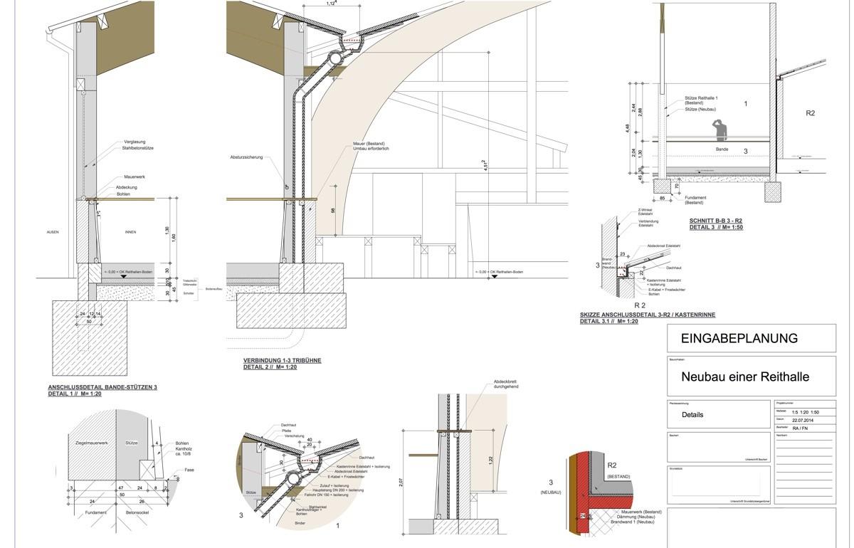 Bauzeichnung, Kreativkopf Freiburg