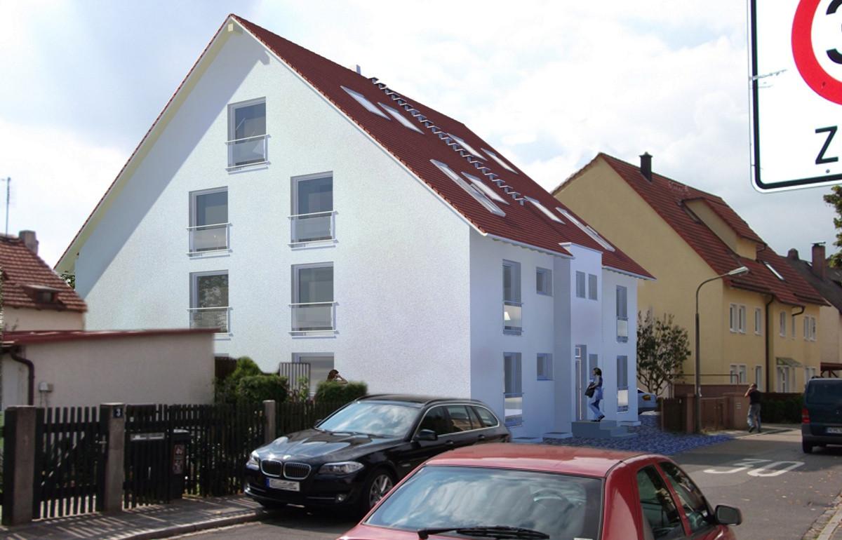 5 Familienhaus, Kreativkopf Freiburg, Gebäudevisualisierung, computerunterstützte Visualisierung, Renderin